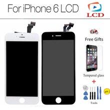 CXD-KX Haute Qualité Grade AAA 4.7 pouce plein écran pour iphone 6 LCD affichage tactile digitizer 6G assemblée + trempé Verre protecteur