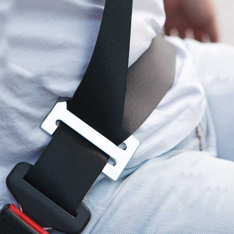 Metal Automotive Car Safety Seat Belt Adjuster Locking Clip
