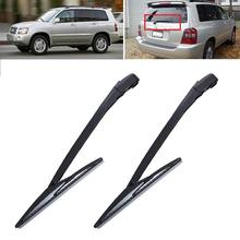 HLEST Durable Auto Car Rear Windshield Wiper Arm And Blade Replacement Set for Toyota Old Highlander 2001-2006