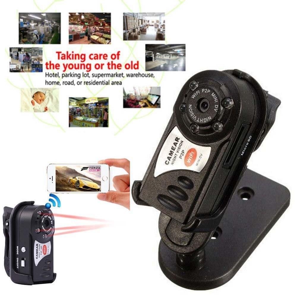 Original Q7 Wifi IP Kleinste Mini Kamera Micro Cam Entfernen Control Geheimnis Video Sound Recorder Überwachung Espia Camara