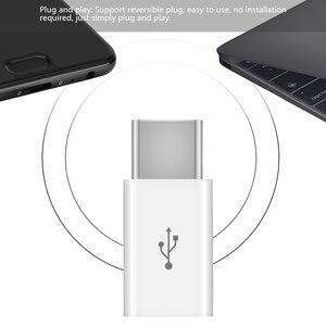 Image 5 - 3 יח\חבילה USB מתאם USB סוג C למייקרו USB OTG כבל סוג C ממיר מחבר עבור Macbook סמסונג s9 S8 Huawei P20 P10