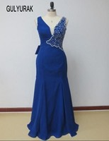 Vestido De Festa 2016 Navy Blue Lace Chiffon Mother Of The Bride Dress 2016 Elegant Cap