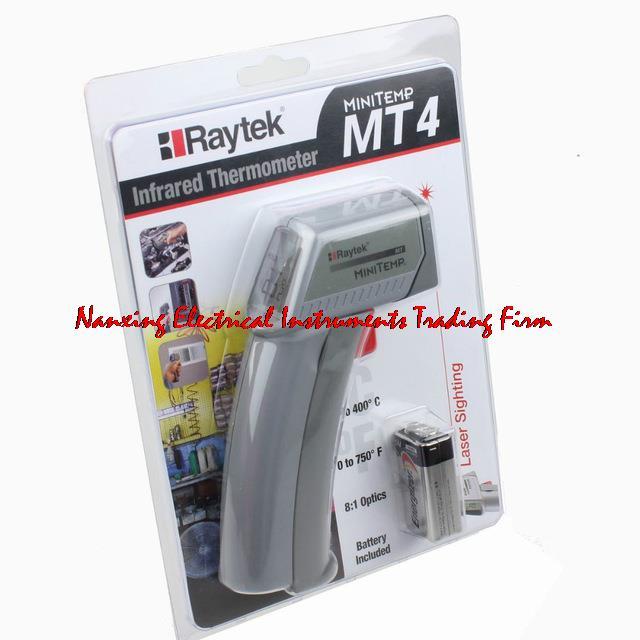 Fast arrival FLUKE/Raytek MT4 Infrared Mini Temp Laser Thermometer Gun -18 to 400C  пирометр raytek st 25