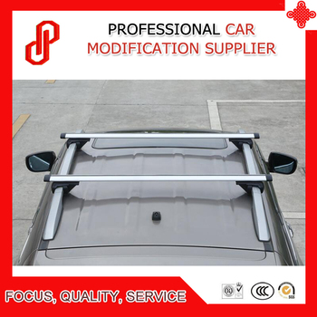 High quality 1 Pair load goods Alumiunium alloy car roof cross bar for Sportage / Sorento / Cherokee / Cayenne / Yeti