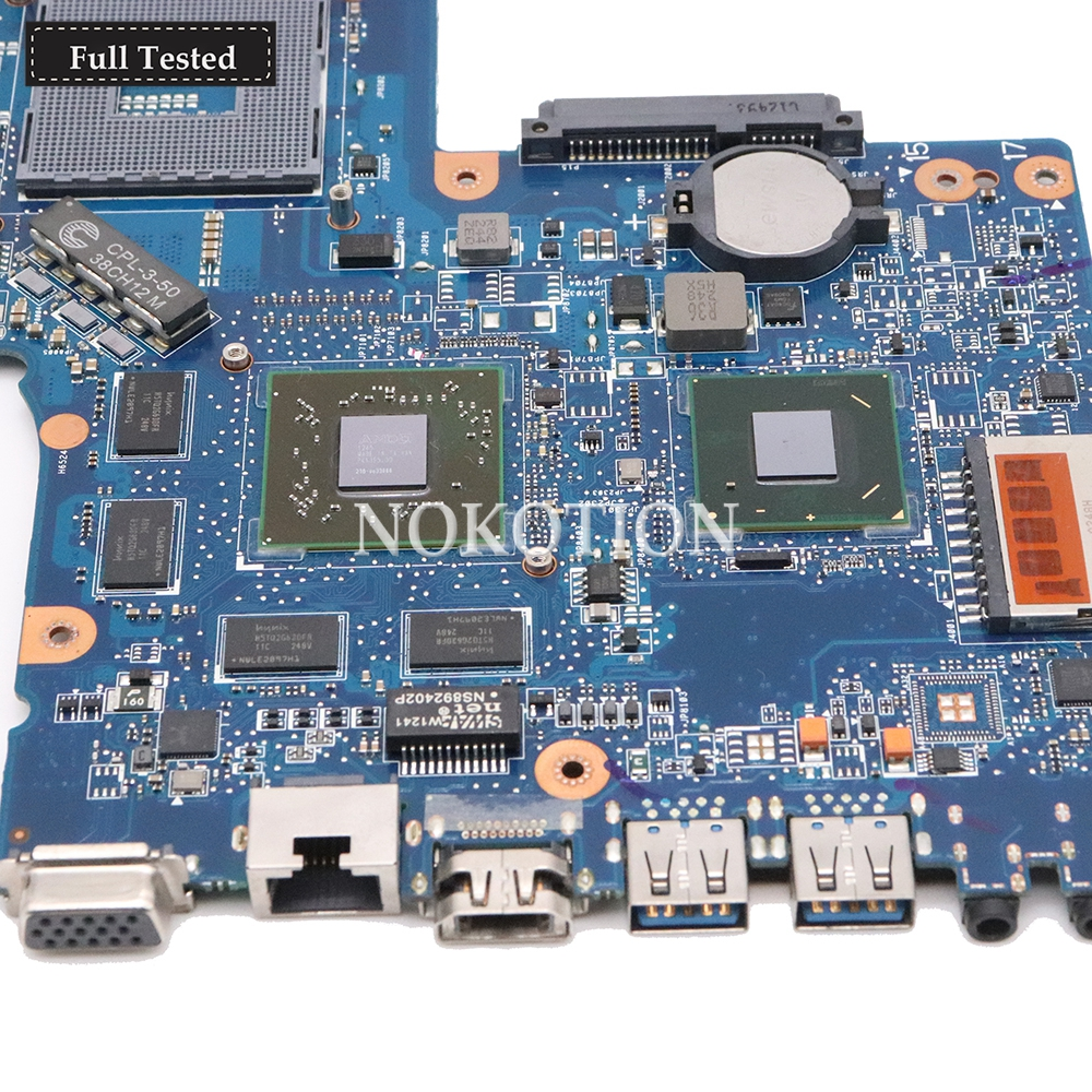 motherboard graphics NOKOTION H000051770 Main board For Toshiba Satellite C850 laptop motherboard HD7670M 2GB graphics memory DDR3 Full tested (2)