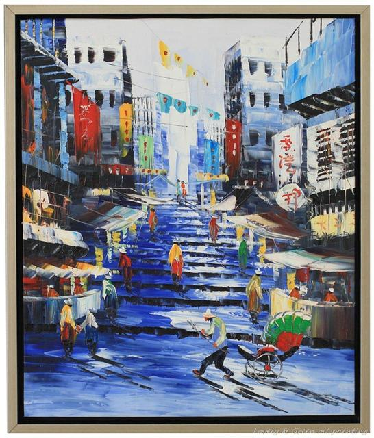 Home Design Ideas Hong Kong: Decorative Art Handmade Oil Painting On Canvas Living Room