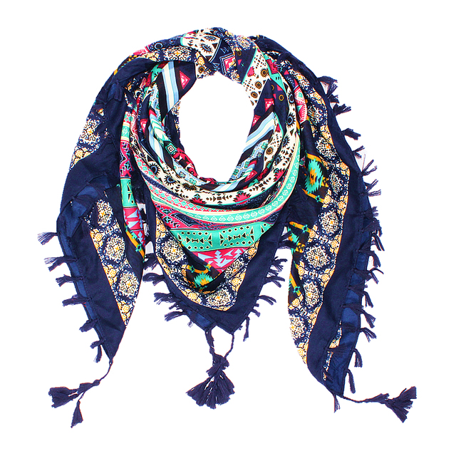 Bohemian Cotton Scarf | Lightweight Scarves