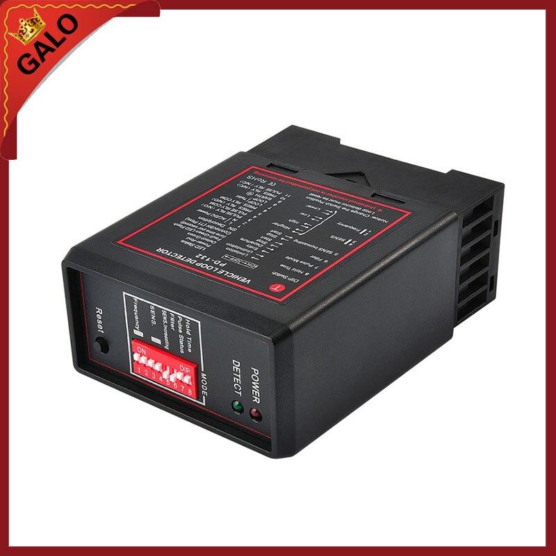 220 В 110 В 12 В 24 В одноканальный ИНДУКТИВНЫЕ ПЕТЛИ детектор автомобиля для bft Mag CAME faac Алеко автоматический барьер, бум ворот