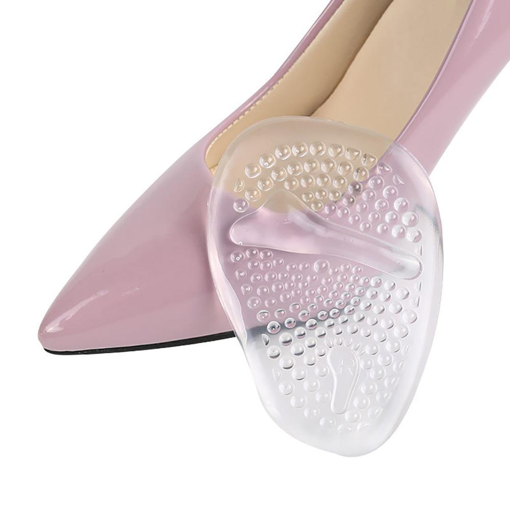Hot 1 Pair Foot Care High Heel Soft Gel Front Sole Anti-Slip Protector Shoes Insole Pad New Gift