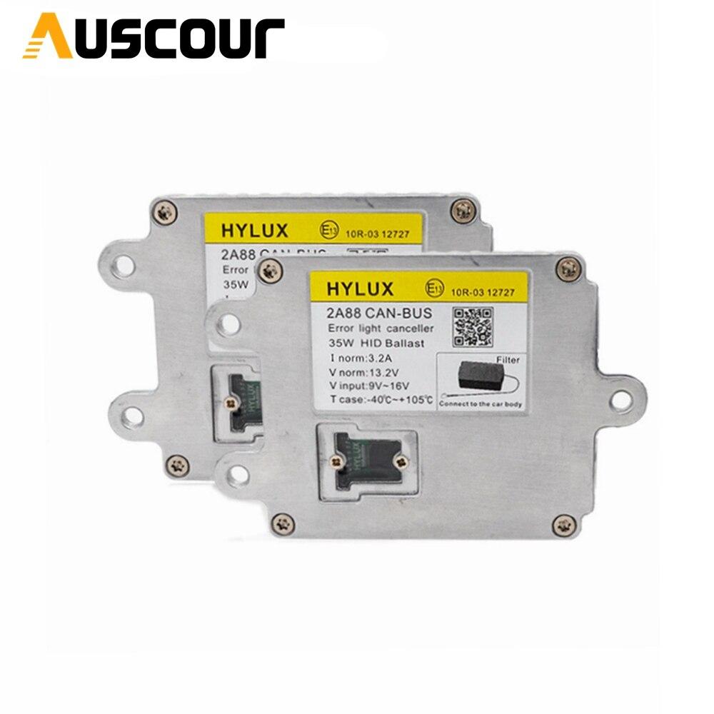 2pcs Hylux ballast 2A88 fast strat AC xenon kit for HID Xenon Bulb H1 H3 H7