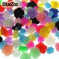 BlueZoo Nuevo 100 unids/pack Colores Mezclados de Clavo de la Resina Decoración de Flores, teléfono celular de la Decoración de DIY Laptop Envío Gratis