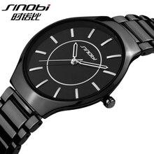 SINOBI Reloj de Los Hombres Reloj de Acero Inoxidable Resistente Al Agua Relojes de Los Hombres Reloj Reloj saat horloges mannen relogio masculino reloj hombre