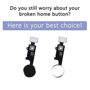 Image 3 - אוניברסלי בית לחצן עבור IPhone 7 7 בתוספת 8 8 בתוספת עם כל פונקצית עבודה ללא מגע מזהה פונקציה לא bluetooth לא קצר להגמיש