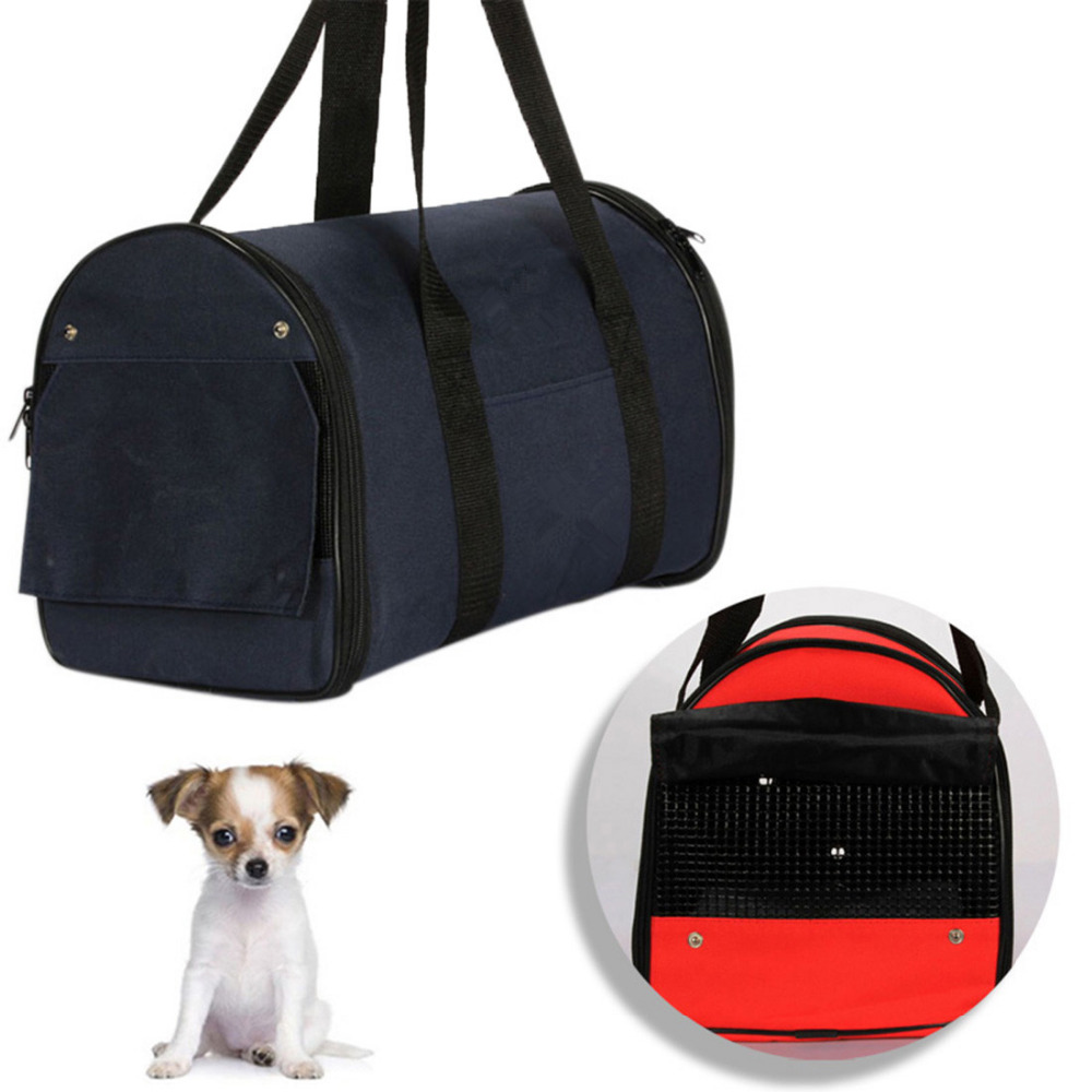Pet Bag Portable Handbag Pet Carrier Cat Dog Cage Outdoor Travel Carrier Case Cage Tent Kennel Bag Crate Cat Dog Carries