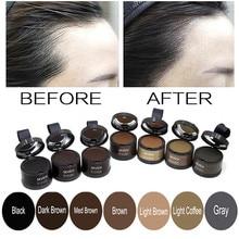 Natural Hair Shadow Powder Hair line Modified Repair Hair Shadow Trimming Powder Makeup Hair Concealer Cover Beauty Edge Control