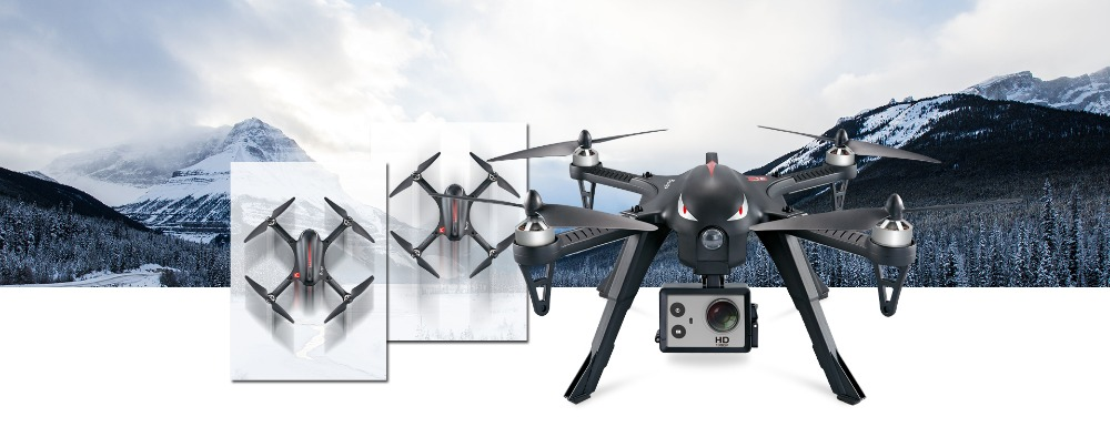 B3 Bugs 3 RC Quadcopter Brushless 2.4G 6-Axis Gyro Drone with Camera Mounts for Gopro Camera free shipping 12