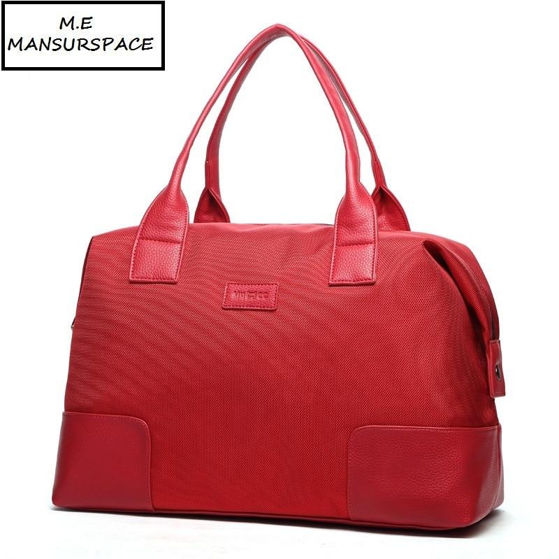 MANSURSPACE High-end Oxford Travel Bag Weekend Bag Large Capacity Overnight Bag Men Waterproof Bag Women Duffel Travel Tote