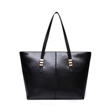 Marke große kapazität pu-leder frauen damen casual trage umhängetaschen handtaschen frau feminina PU rot schwarz bolsas feminina