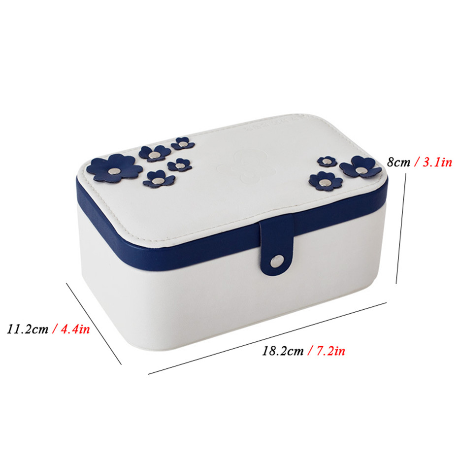 Jewelry Display Box Packaging Box Casket Exquisite Makeup Organizer Cosmetics Storage Case Container Boxes Birthday6