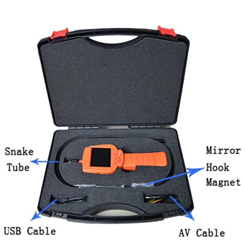 2.4 Inch Monitor  17mm 300,000Pixles Water-Proof IP66 AV Handheld Endoscope