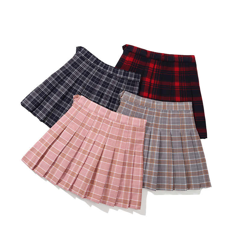 04ccebfb63 Stylish Big Girls Checkered Skirt for Fall Winter Children's Clothing Kids  Clothes
