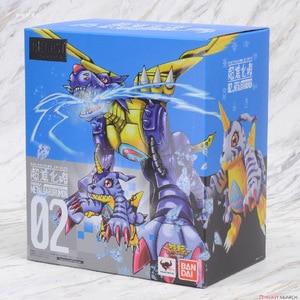 Image 2 - بانداي الأصلي Digimon الوحش Gabumon معدن Garurumon عمل نموذج لجسم تعديل تشوه