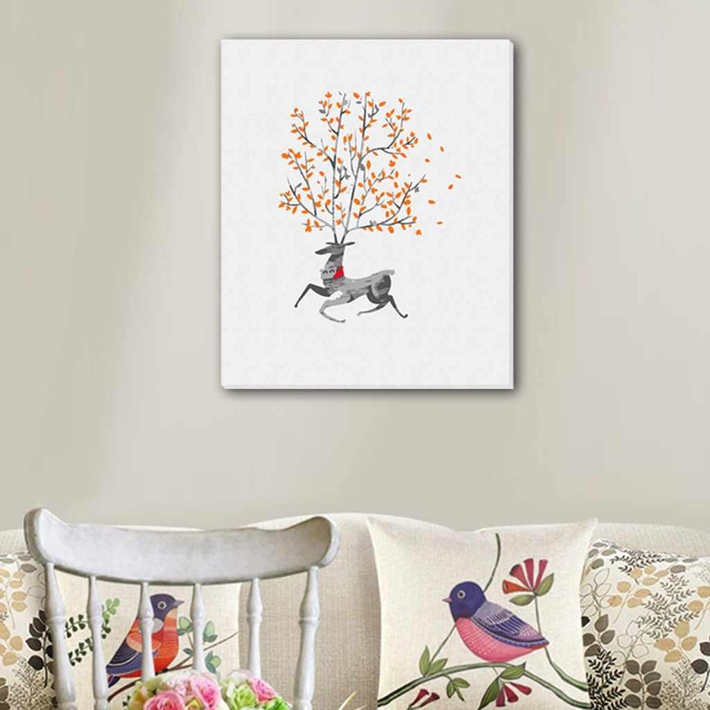 الإبداعية شخصية النفط اللوحة المنزل الديكور النفط اللوحة الطلاء بواسطة أرقام جدار صور لغرفة المعيشة الملصقات جديد