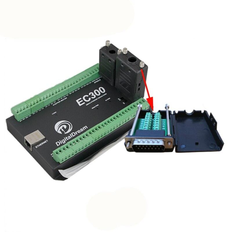 EC300 Mach3 Porta Ethernet per il router di CNC Scheda di Controllo 200 KHz 3 4 5 6 Assi Ethernet per il Router di CNC macchina per incisione in metalloEC300 Mach3 Porta Ethernet per il router di CNC Scheda di Controllo 200 KHz 3 4 5 6 Assi Ethernet per il Router di CNC macchina per incisione in metallo