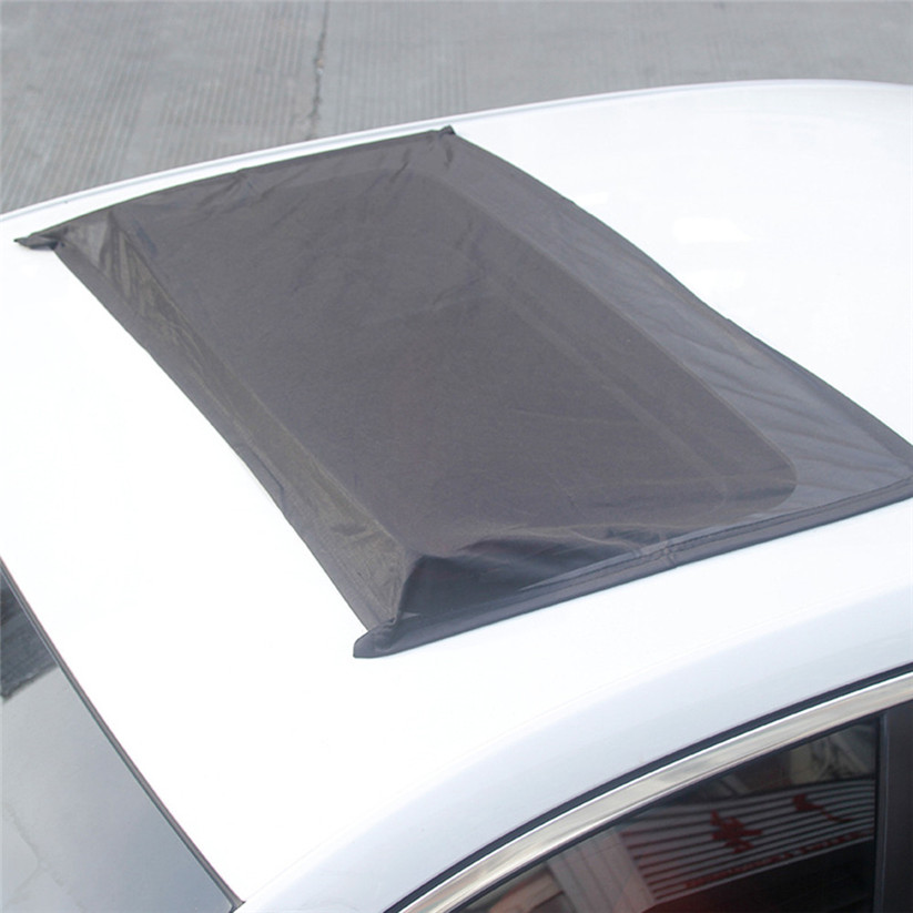 Sun Blocker For Car >> Us 13 66 19 Off Car Styling Konyide Windshield Sunshades Car Top Window Sun Blocker Uv Mesh Anti Mosquito Sun Shade Td0713 Dropship In Windshield