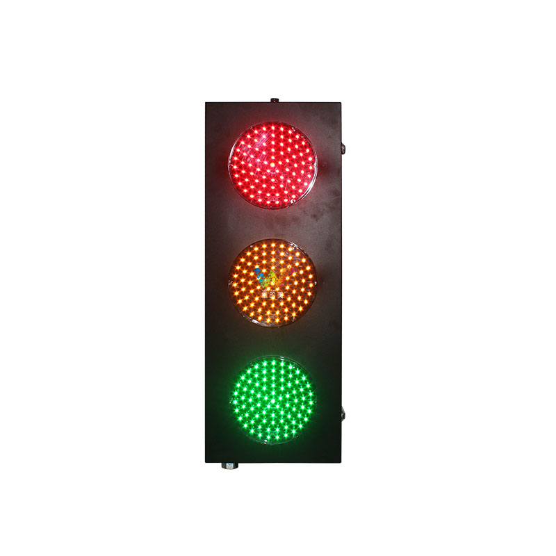 Steady 8 Inches 200mm Led Traffic Light Red Yellow Green Led Traffic Signal Light Roadway Safety Traffic Light
