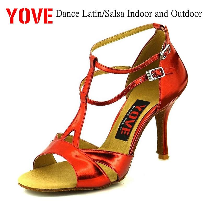 YOVE 스타일 w134-21 댄스 신발 Bachata / Salsa 실내 및 - 운동화