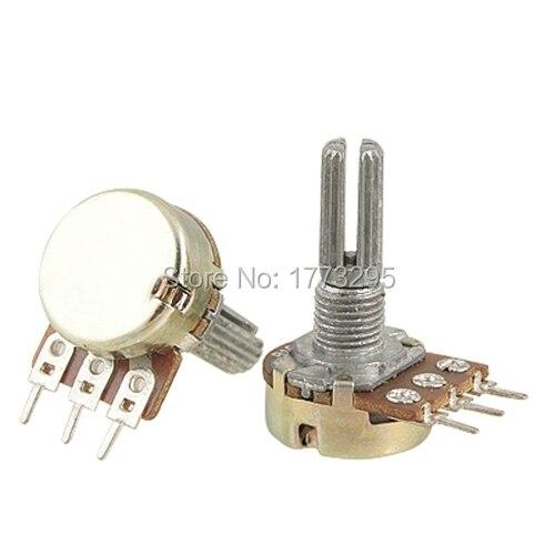 10 pièces De Haute Qualité WH148 B10K Potentiomètre Linéaire Pot simple joint 1 K 2 K 5 K 10 K 20 K 50 K 100 K 250 K 500 K 1 M 500 Ohm pour Arduino