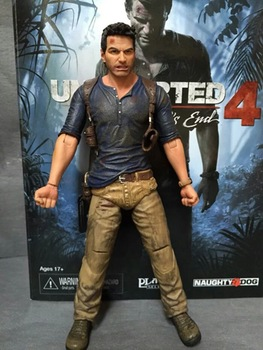 Uncharted 4 A thief's end NATHAN DRAKE Ultimate Edition Neca Action Figure Collectible Model Toy 7″ 18cm