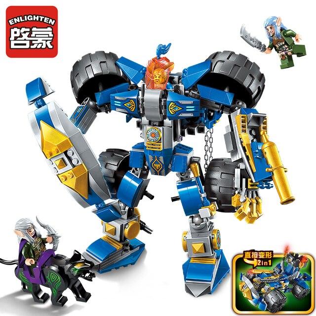 372pcs enlighten building blocks toys for children glory mirage