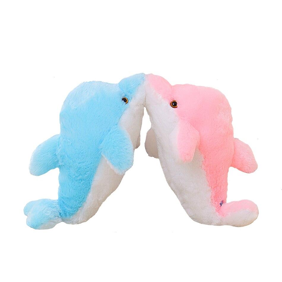 45 cm luminoso muñeco de peluche de delfín que brilla intensamente - Peluches y felpa - foto 4