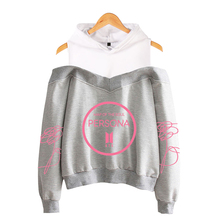 Bangtan7 Map Of The Soul: PERSONA Off-Shoulder Hoodie