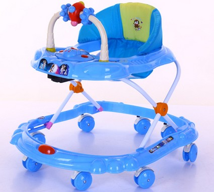 Children walkers to prevent rollover multi-functional foldable baby walkers walkers
