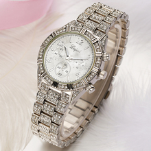 Geneva Rhinestone Crystal Watch