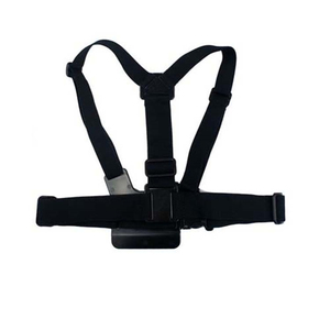 Image 1 - Strap Harness Adjustable Elastic Belt Chest Strap Mount for Action Sports Camera Accessories
