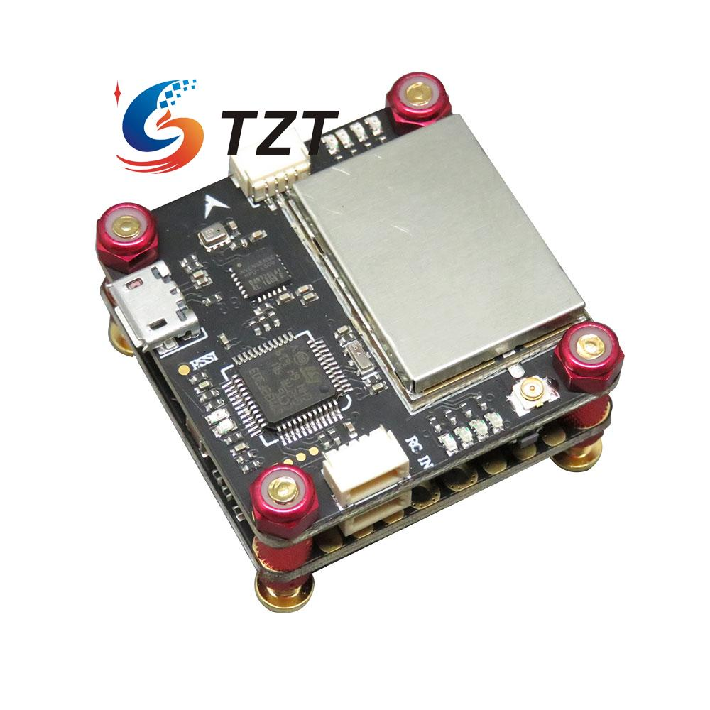 FlyTower F3 Flight Controller Board Integrated with OSD BEC 4 in 1 ESC VTX for FPV Racing Drone Quadcopter high quality flytower f3 flight controller 25 200 400mw switchable fpv transmitter osd dshot 30a 4 in 1 esc pdb