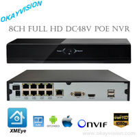 Free Shipping For 8CH 4CH NVR With 1SATA And 8 POE And 4 POE Ports HDMI