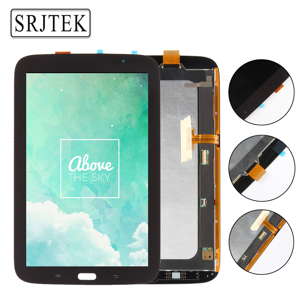 Srjtek 8 inch For Samsung Galaxy Note 8.0 N5110 LCD Display Screen Touch Digitizer Sensor Tablet Pc Assembly Replacement Parts original for asus zenpad 3s 10 z500m p027 z500kl p001 lcd display matrix touch screen digitizer sensor tablet pc parts assembly