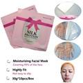 Tratamiento de Cuidado de la cara Máscara de Belleza Hidratante Cuidado de La Piel Máscara De Seda Antiarrugas Antienvejecimiento 10 unids