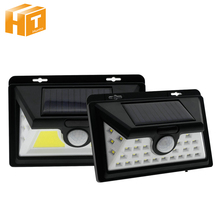 LED Solar Porch Light PIR Motion Sensor IP65 Waterproof Garden Lamp Outdoor Wall .