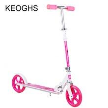 Scooter pour adultes et childrenbaby pliable PU 2 roues musculation en plein air tout en aluminium urbaine campus transport