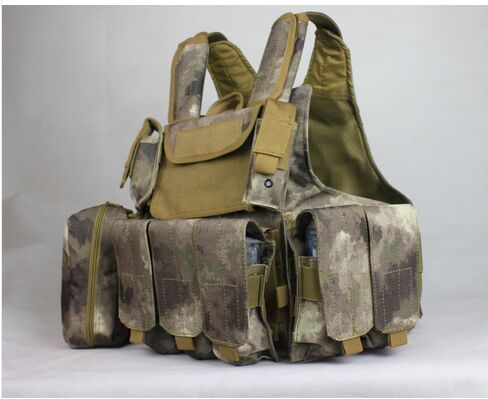 A-TACS ATFG tactical vest New CIRAS HEAVY DUTY Tactical Combat ARMOR Vest tacs soap ts1005b