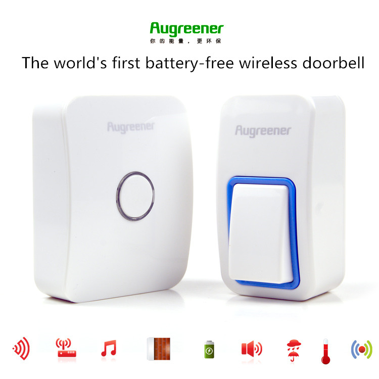 ФОТО 25 Tunes Wireless Remote Control Doorbell Door Bell Chime,One Button and one Receiver No need battery,Water proof, AC110-220V