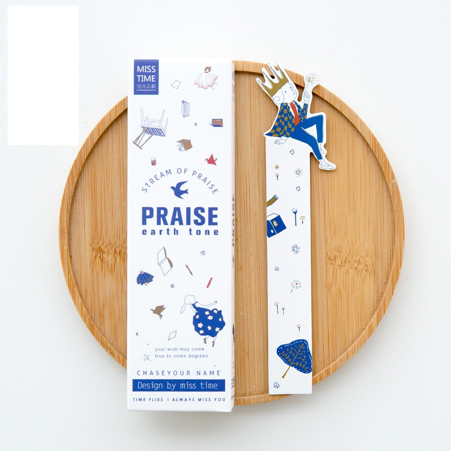 30 Pcs/Lot Stream Of Praise Bookmark Book Holder Message Card Promotional Gift Stationery