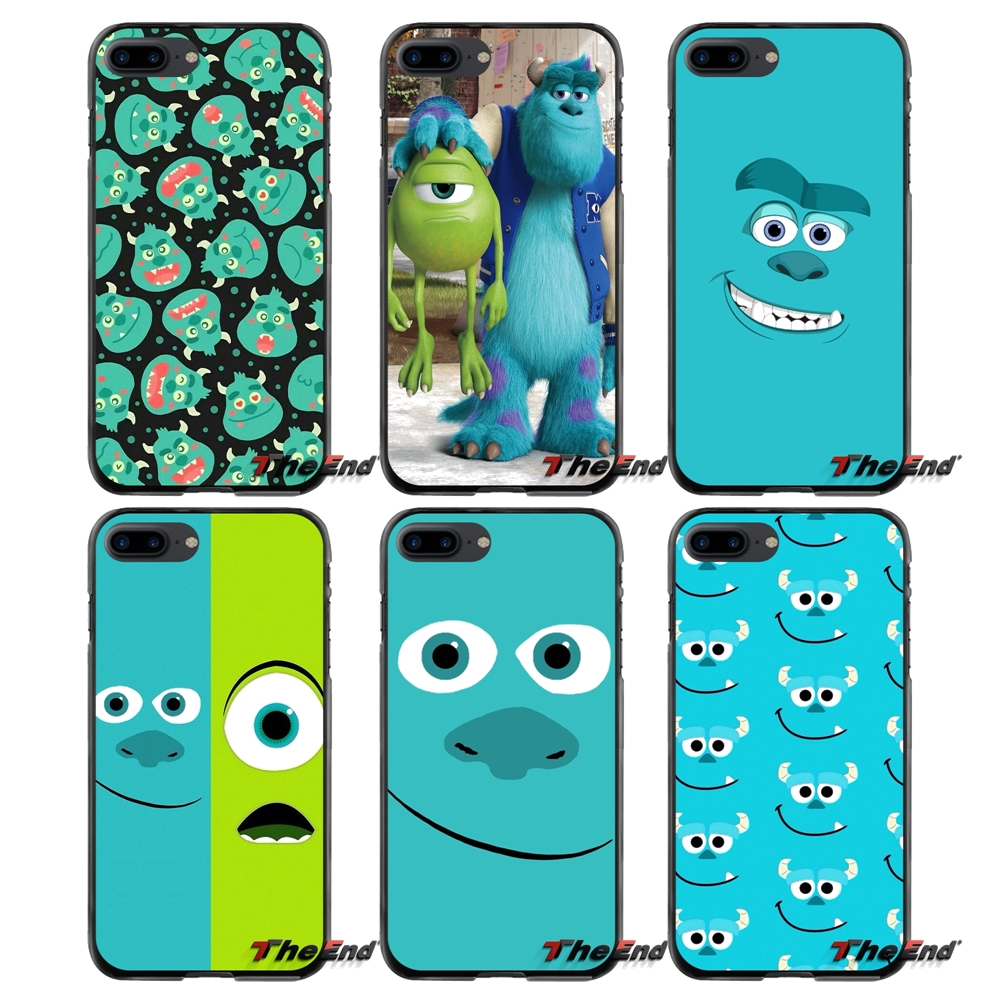 Accessories Phone Skin Cover For Apple iPhone 4 4S 5 5S 5C SE 6 6S 7 8 Plus X iPod Touch 4 5 6 cute Sullivan monsters University