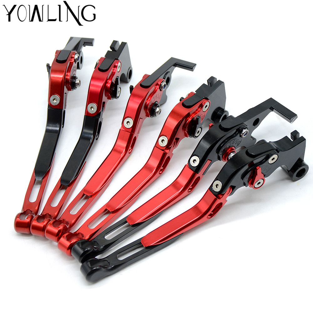 For Yamaha FAZER600 FZ6S/FZ6N FZ6R 2004 2005 2006 2007 2008 2009 2010 Motorcycle Adjuster CNC Handlebar Clutch Brake Levers motorcycle accessories increased torque of cnc pivot brake clutch levers for ktm ajp pr4 125 200 2004 2005 2006 2007 2008 2009